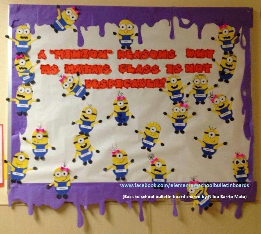 Bulletin Board Ideas In Classroom : Back to school bulletin board awesome