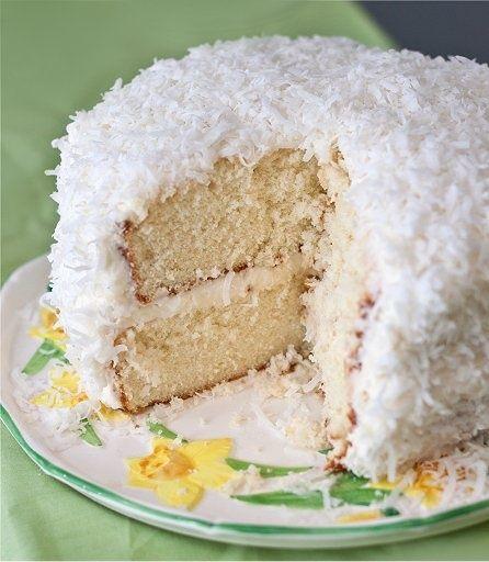 Coconut Cake | Easy Cookbook Recipes | Desserts | Pinterest