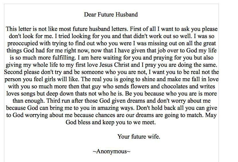 Future Husband Quotes. QuotesGram