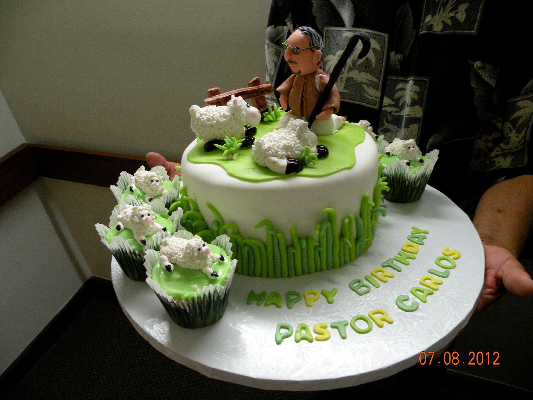pastors birthday cake