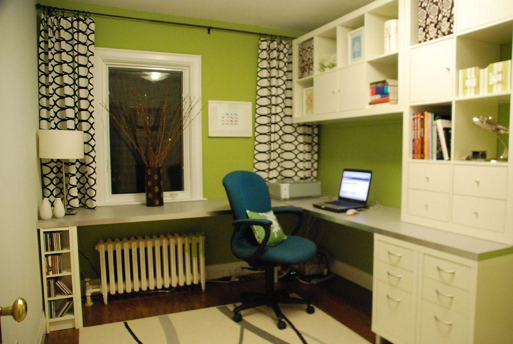 Office craft room home decor pinterest - Home office craft room design ideas ...