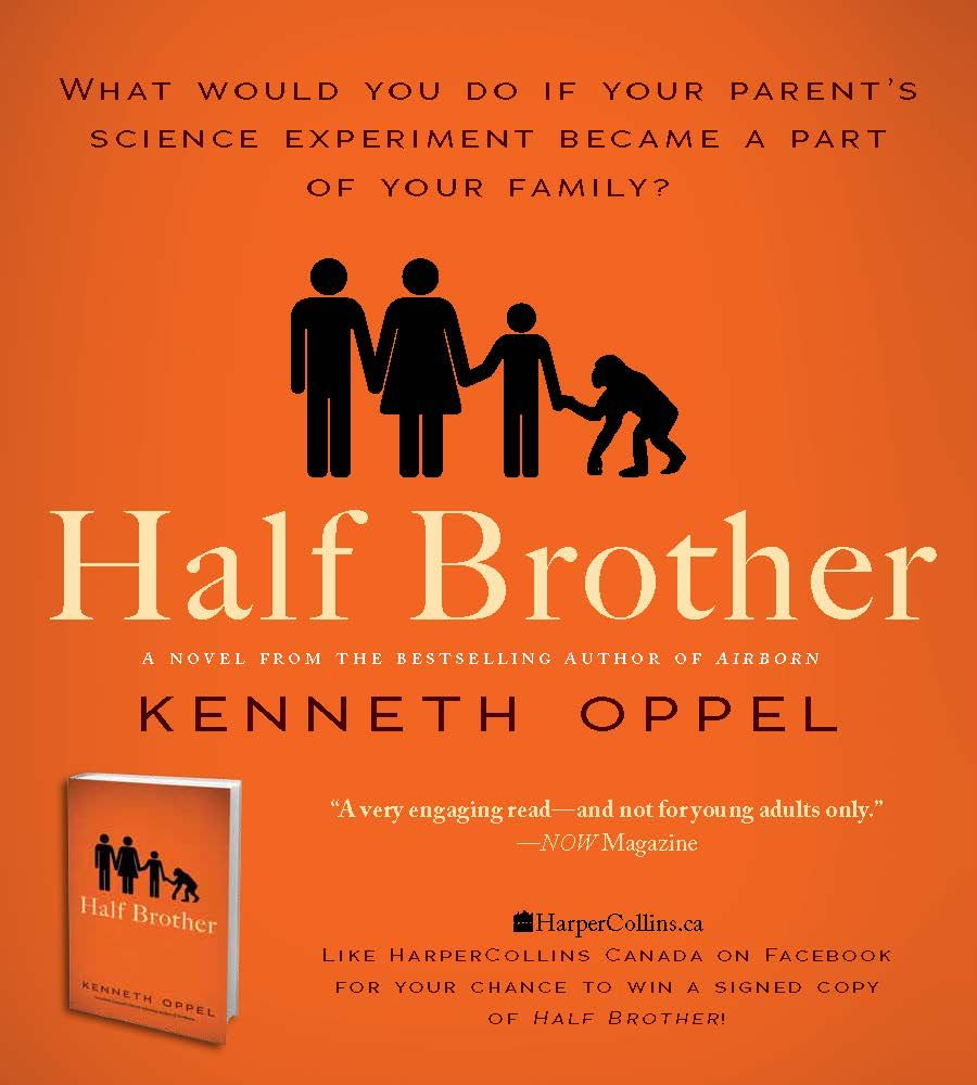 half brother by kenneth oppel Kenneth oppel novel 'half brother' optioned producers christian taylor (hick) and eva orner (taxi to the dark side) have optioned kenneth oppel's young adult novel half brother.