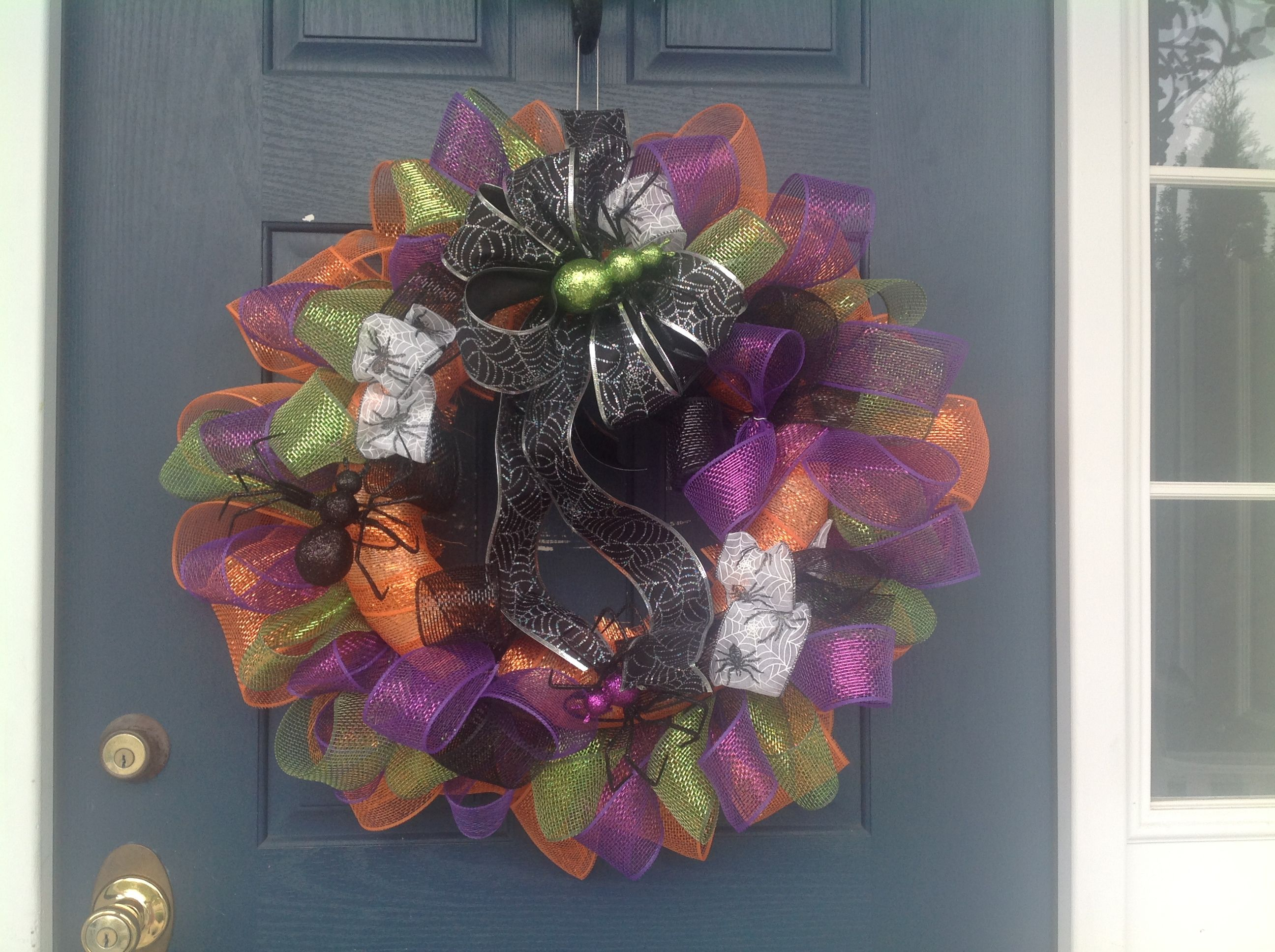Halloween Fall Wreath For Front Door For The Home