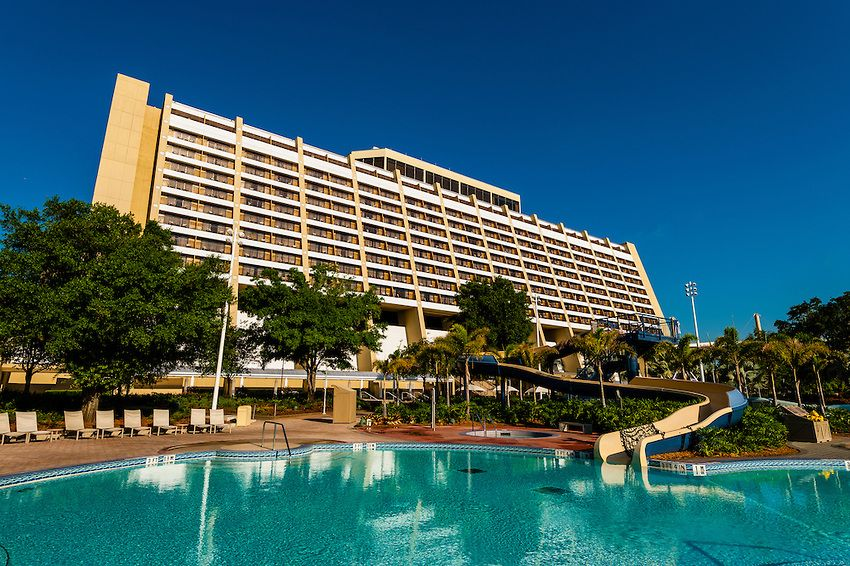 Contemporary resort walt disney world resorts pinterest for Contemporary hotel