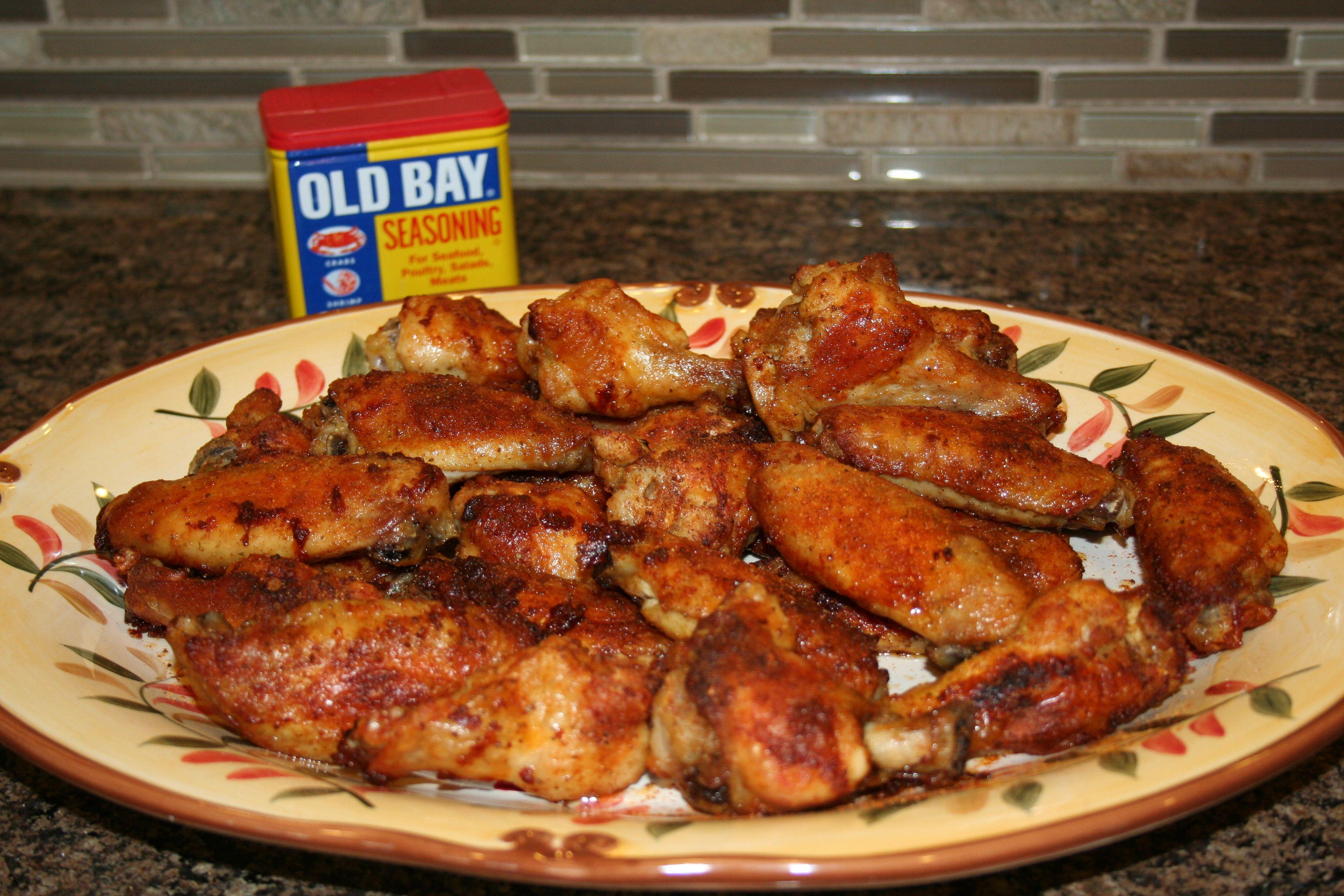 Old Bay Crispy Chicken Wings | Wingin' it | Pinterest