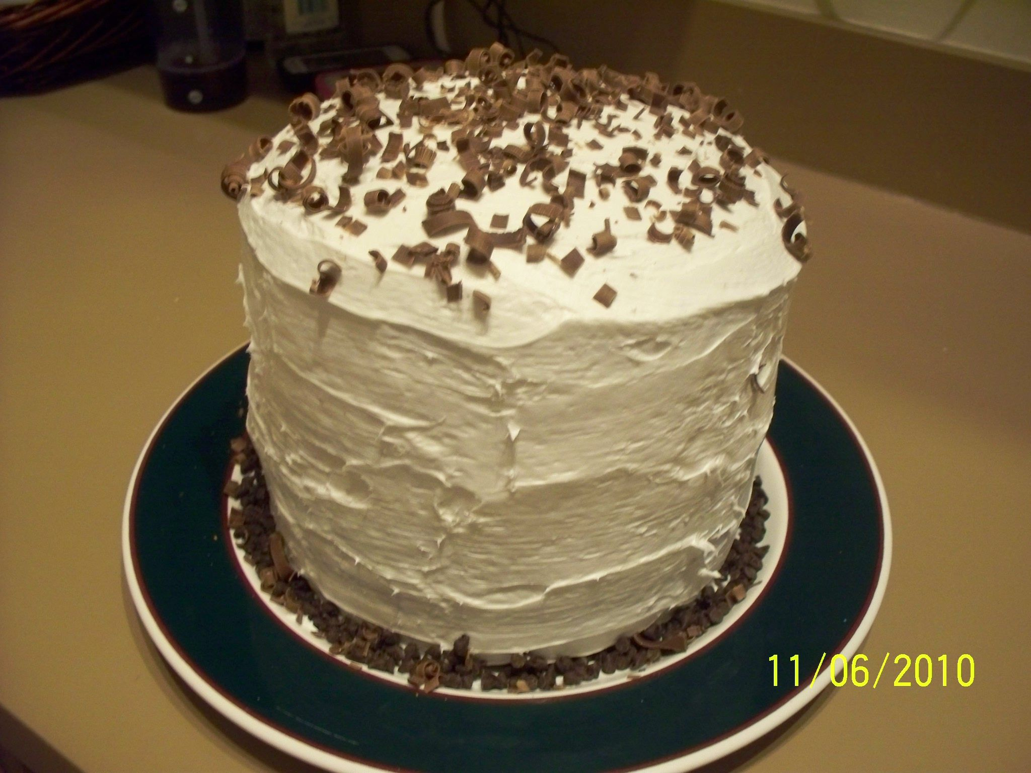 Mile High Cheesecake Layered Chocolate Cake Recipe — Dishmaps