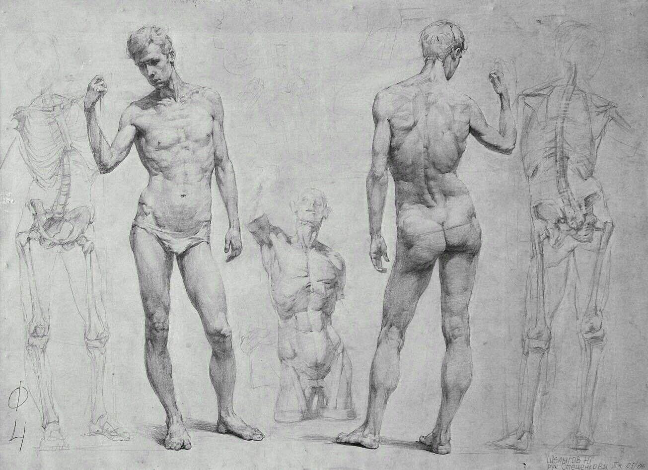 Обнаженные Фигуры Человека