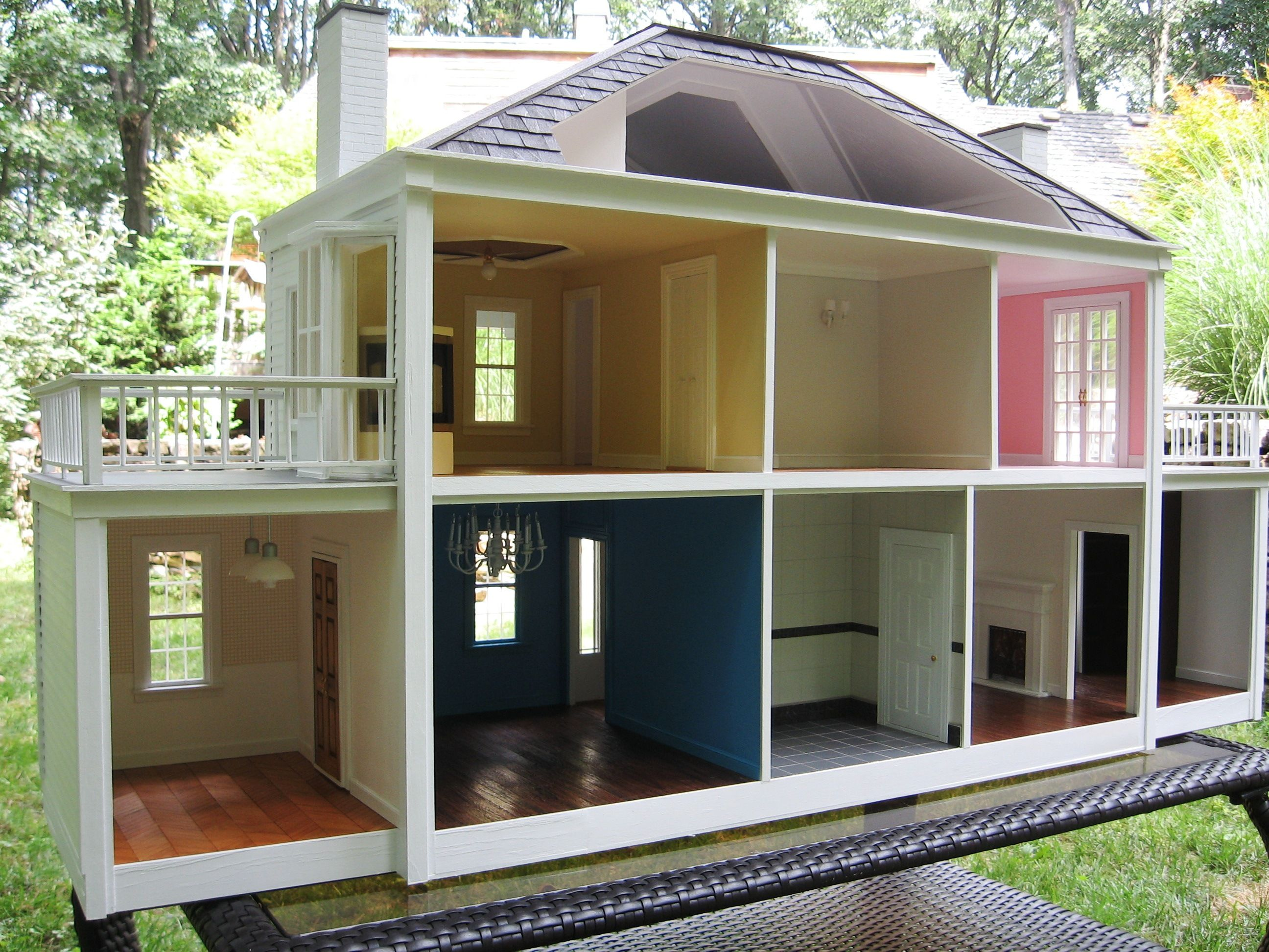 Dollhouse decorating ideas barbie houses pinterest for House decorating ideas