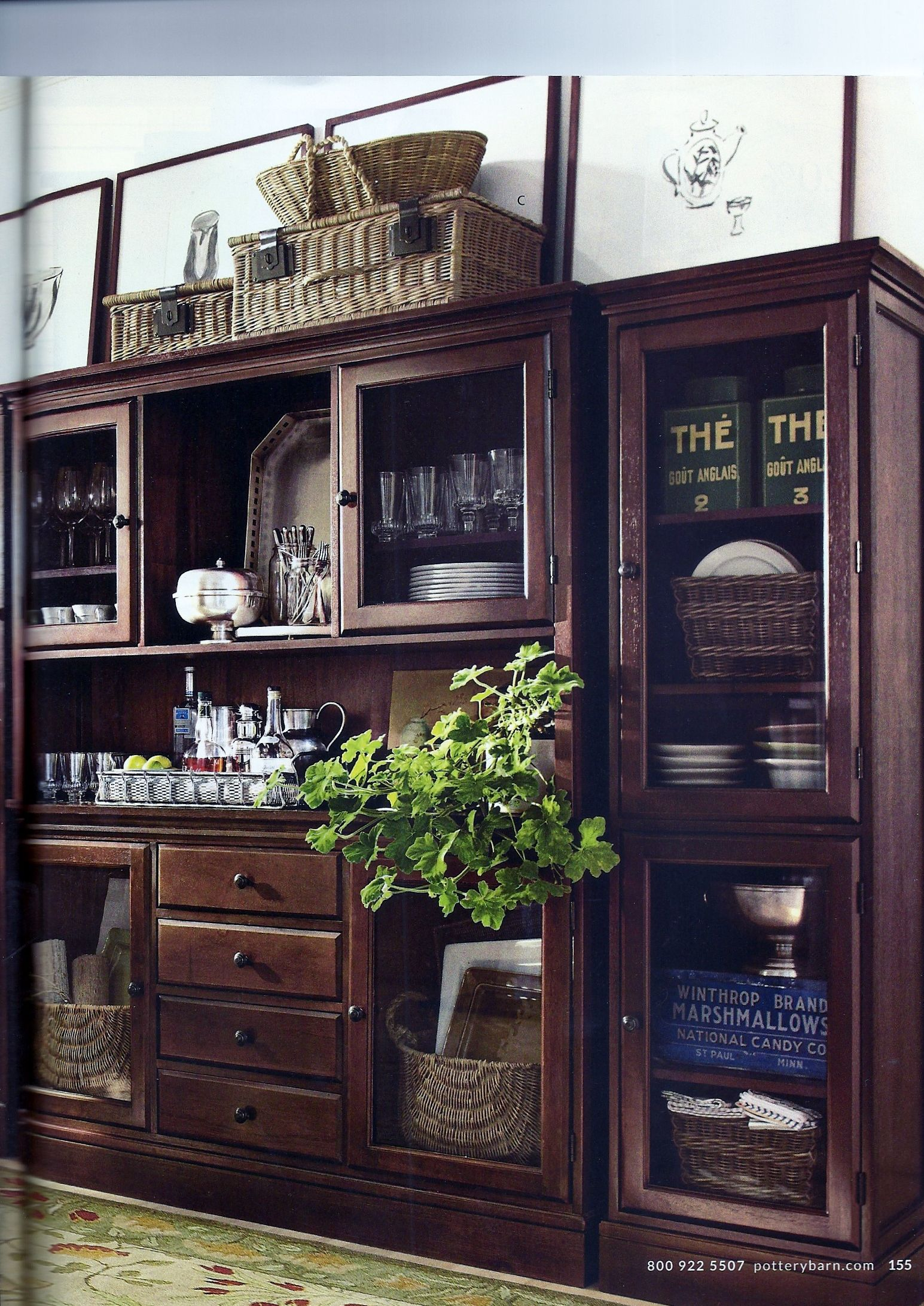 dining room hutch homesweethome pinterest