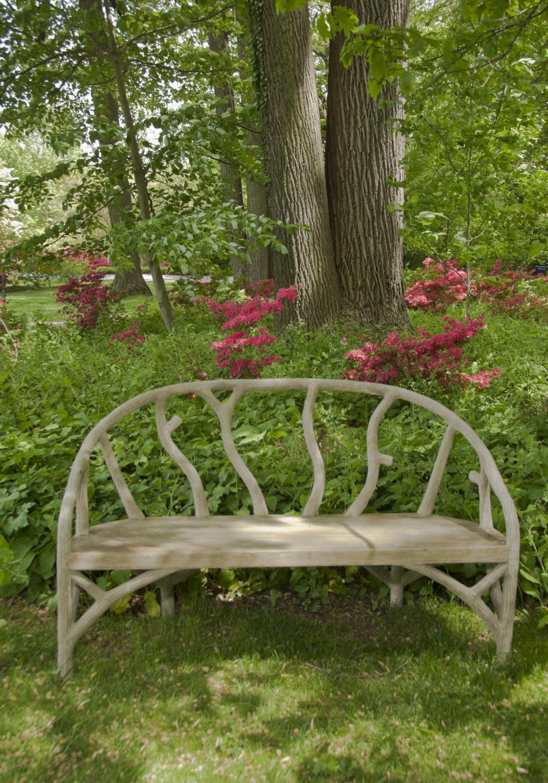 Arbor Bench At Winterthur Garden Bench Tuinbanken Pinterest