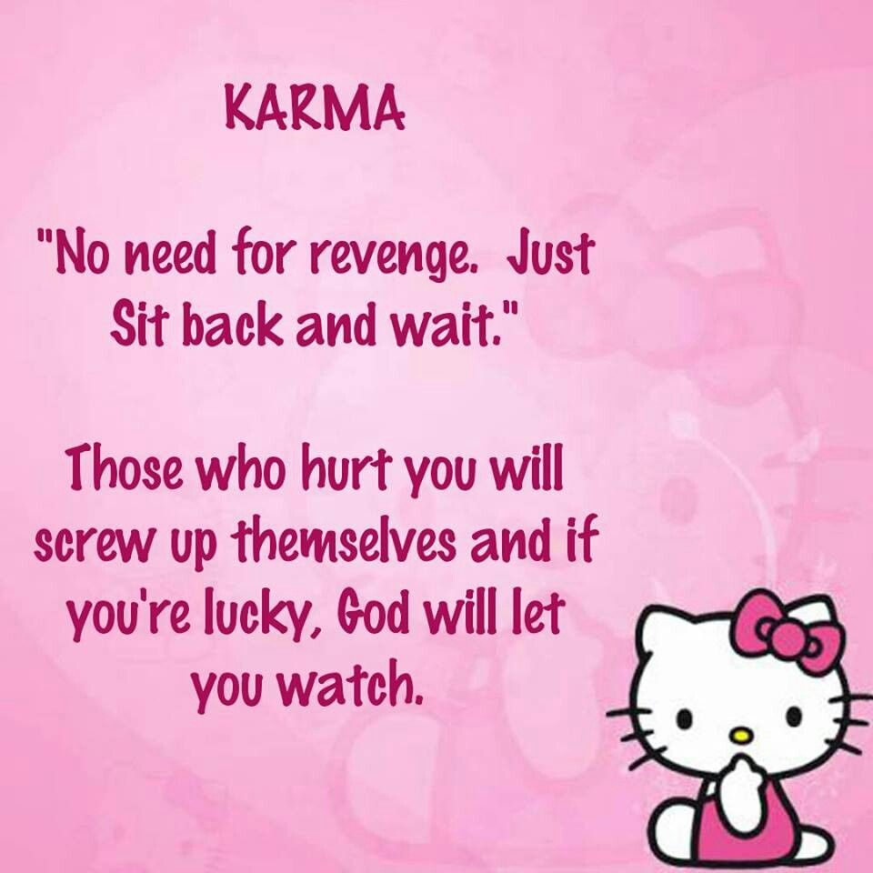 Quotes About Friendship And Karma : Karma is my friend quotes