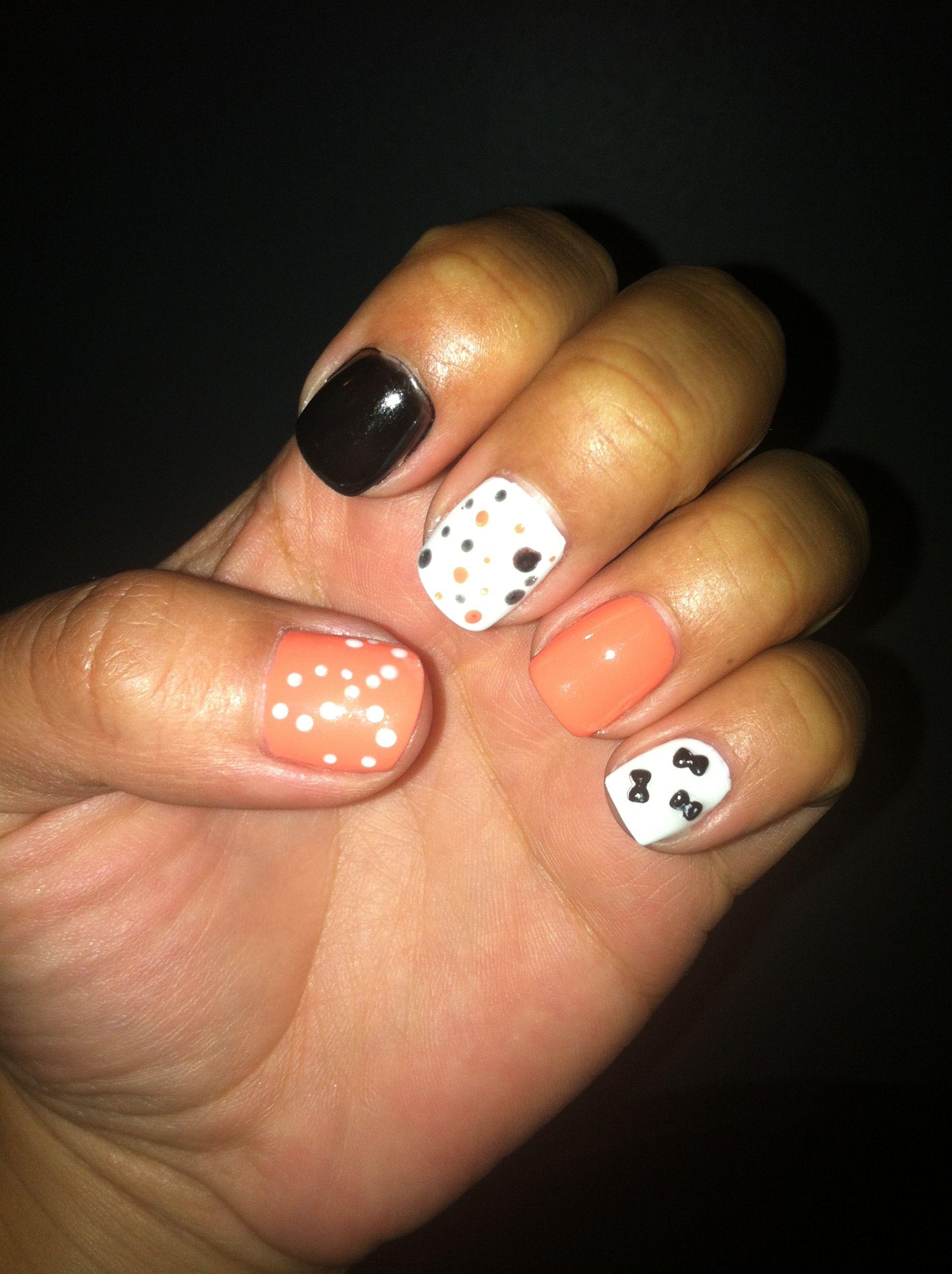 Gel nail design | nails nails nails | Pinterest