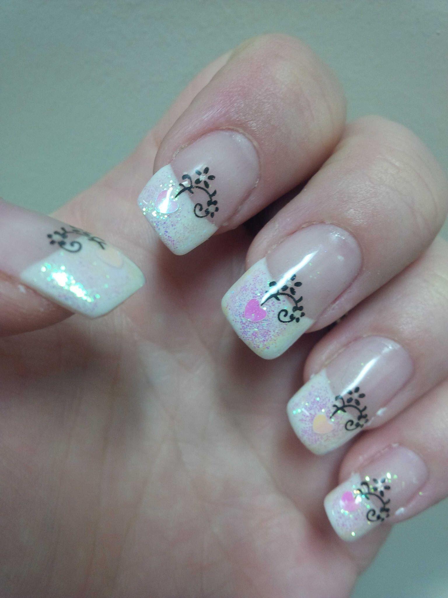 cute valentine nail designs