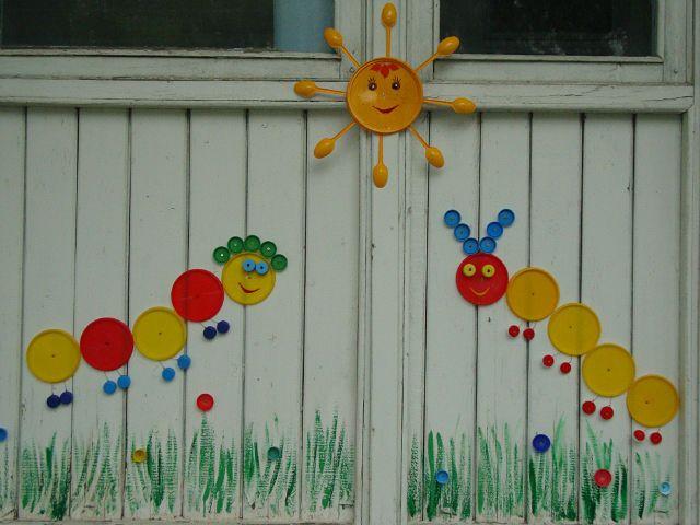 Оформление веранду в детском саду своими руками