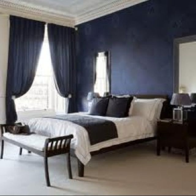 navy blue master bedroom idea master bedroom pinterest