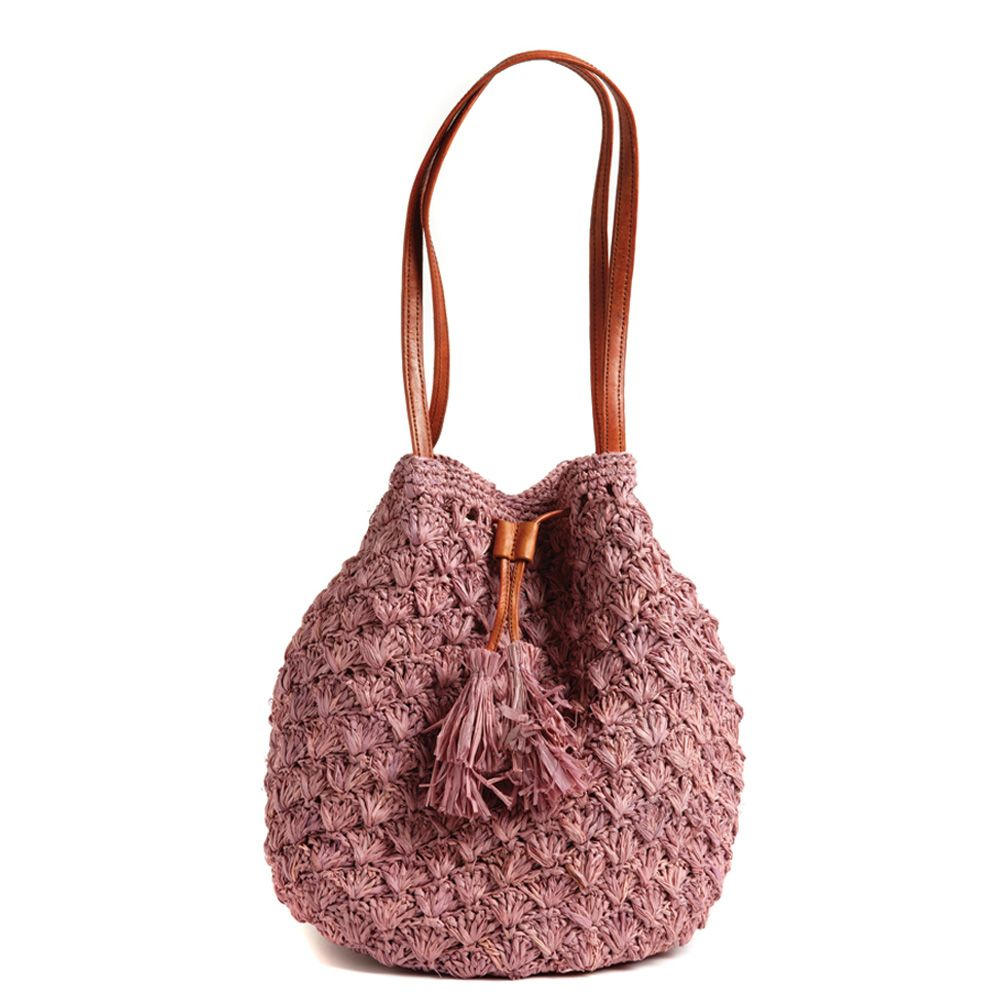 Crochet Drawstring Bag : crocheted drawstring bag Crochet Bags Pinterest