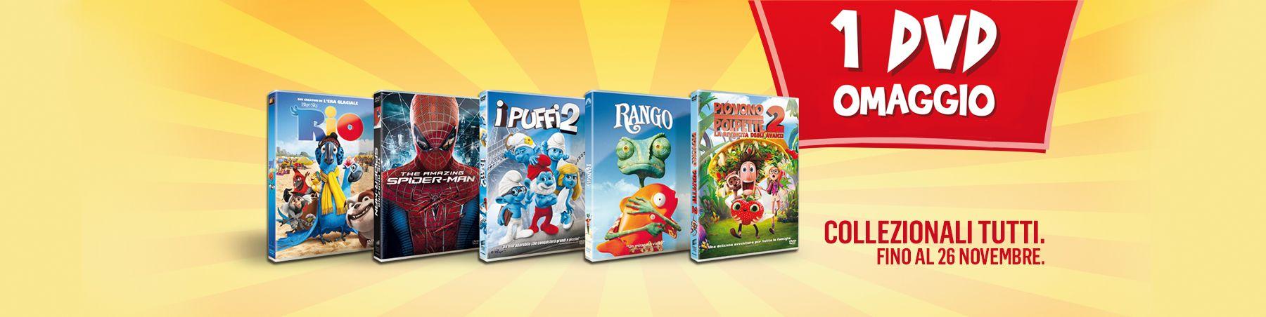 Mc Donald's Regala DVD con il Menù Super CampioniGratuiti.eu