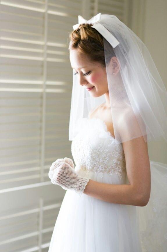 ショート ポンパドール 結婚式