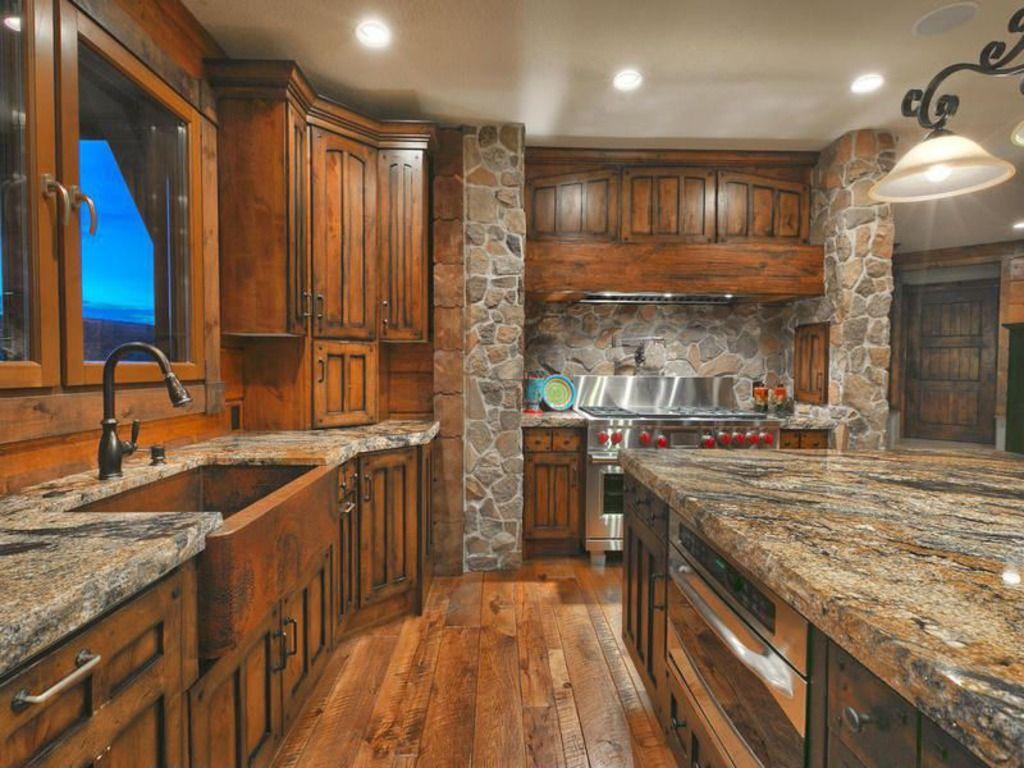 Mountain Kitchen Home Ideas Stuff Pinterest
