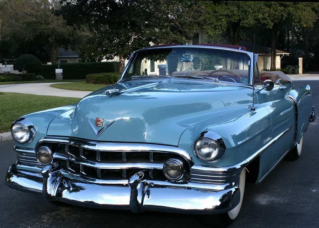 1950 Cadillac Convertible Classic Cars Pinterest