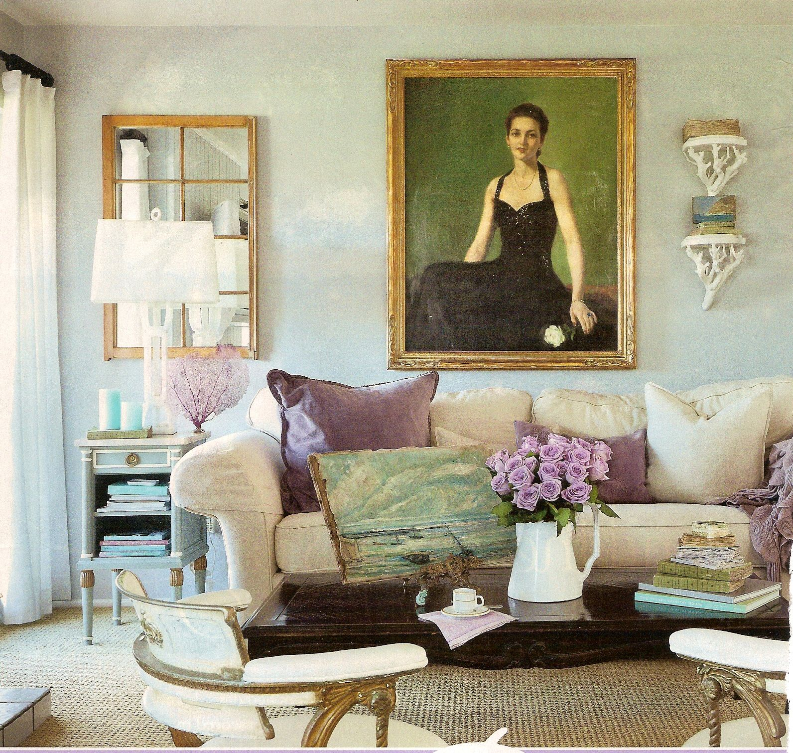 romantic country interior decor pinterest