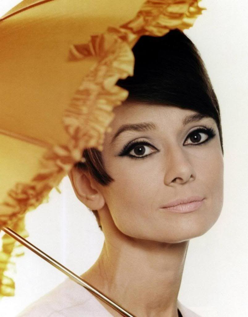 Audrey Hepburn Cat Eye Makeup Cosmeticstutor