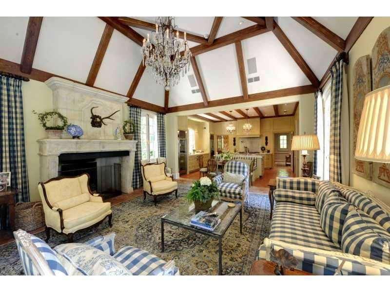 French Country Living Family Rooms Pinterest