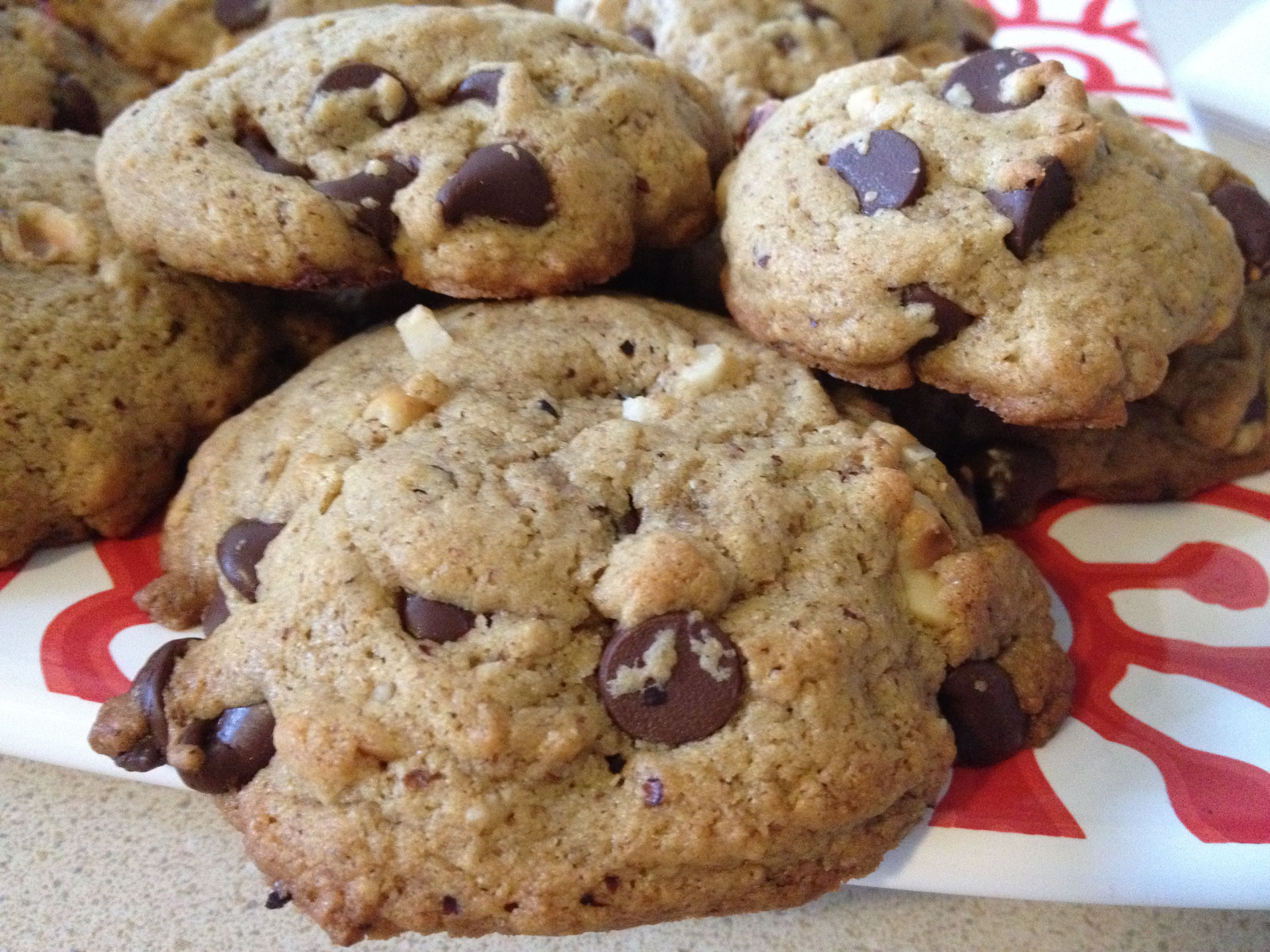 Almond Butter chocolate chip cookies | My EpicCure (foods I've made ...