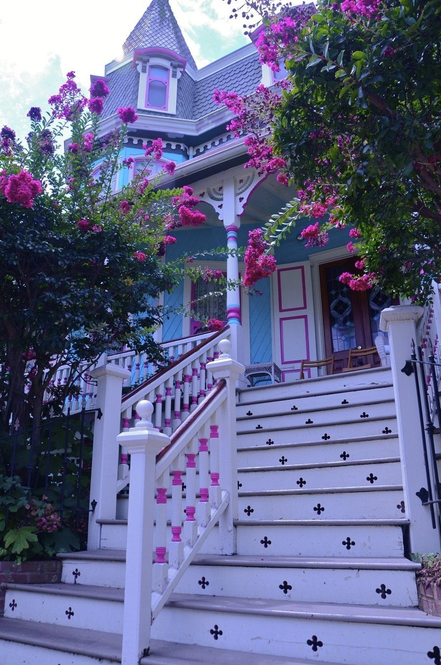 victorian painted lady porch - photo #37