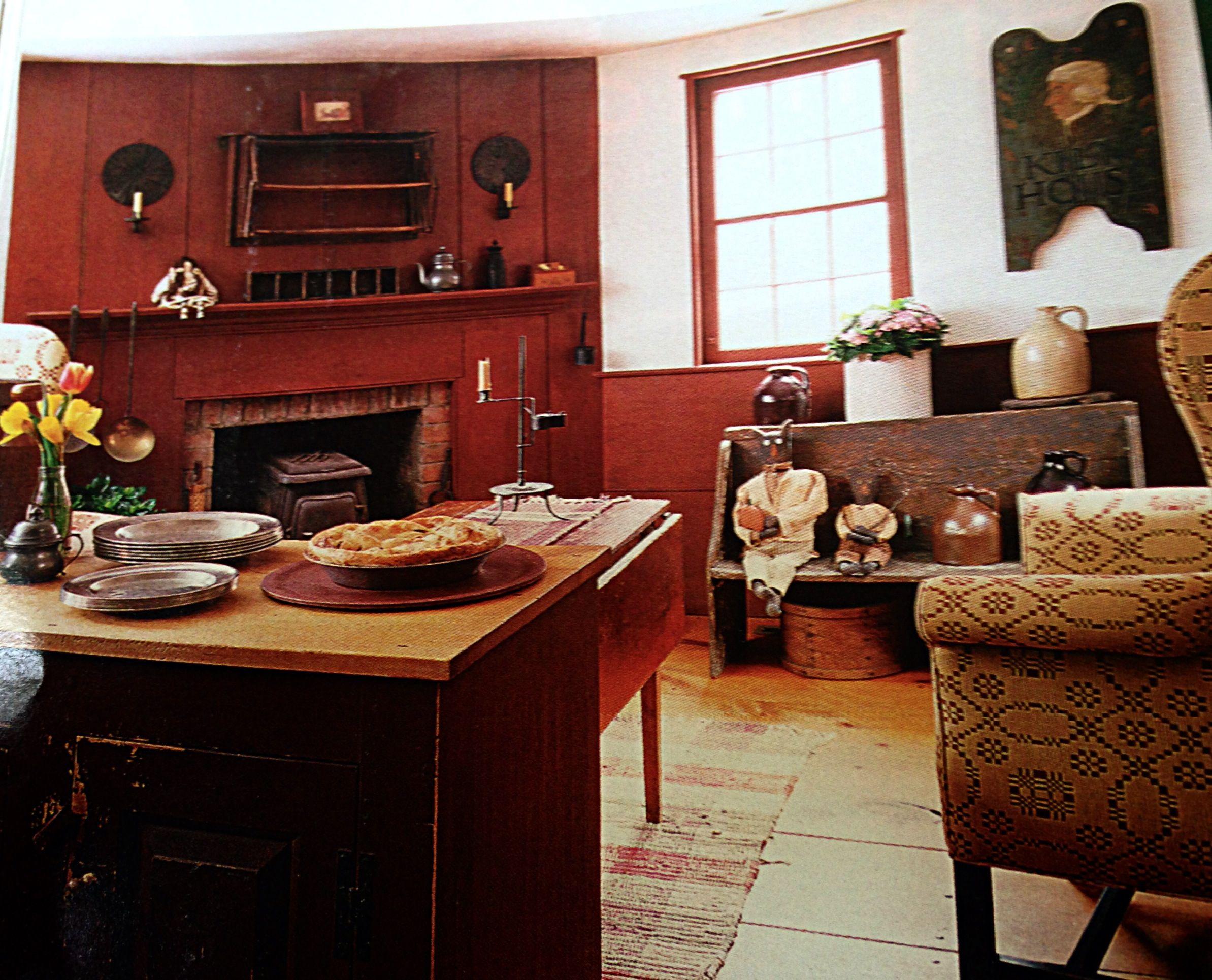Colonial keeping room keeping room ideas pinterest for Keeping room ideas