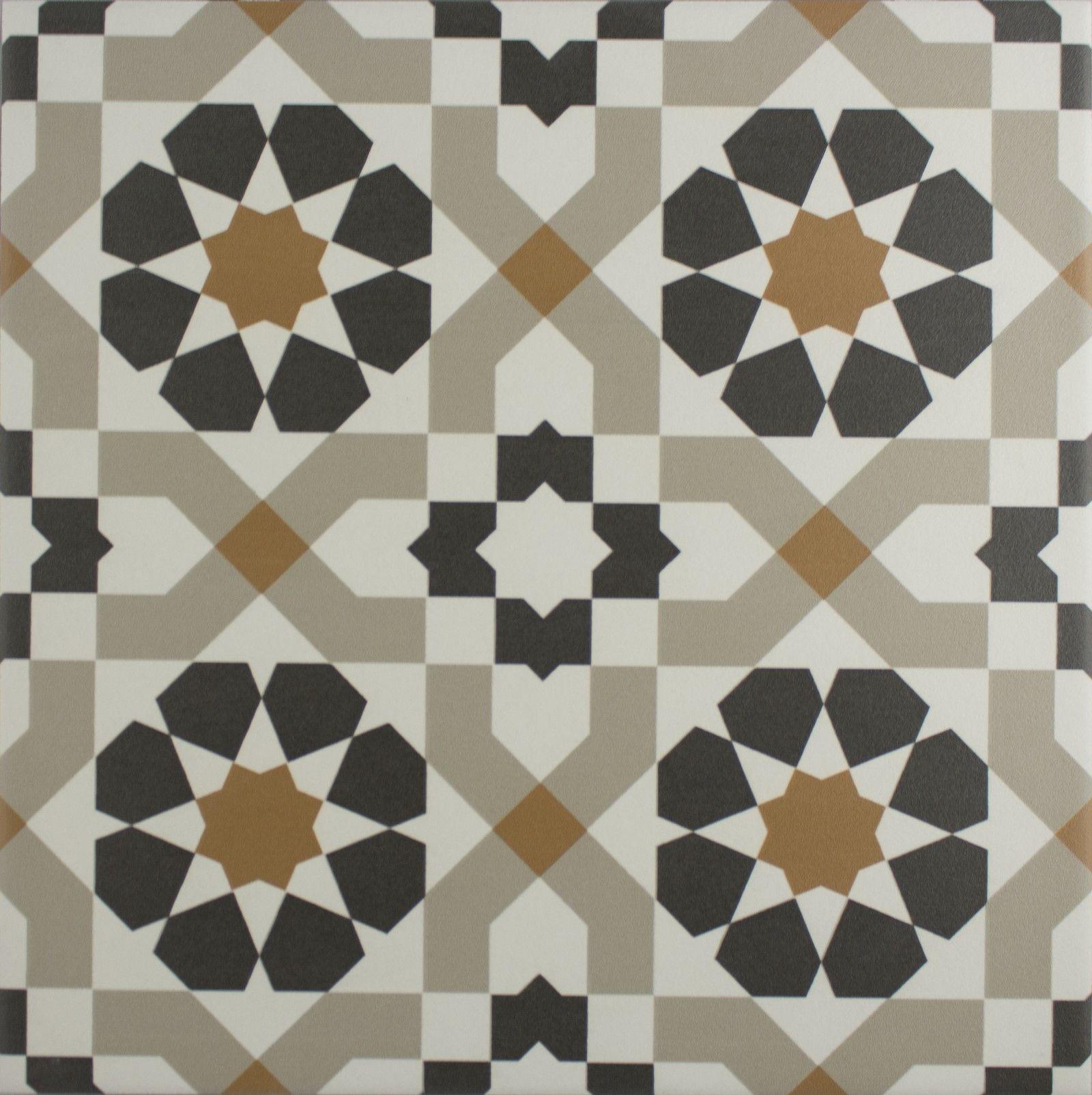 Picture floor tiles