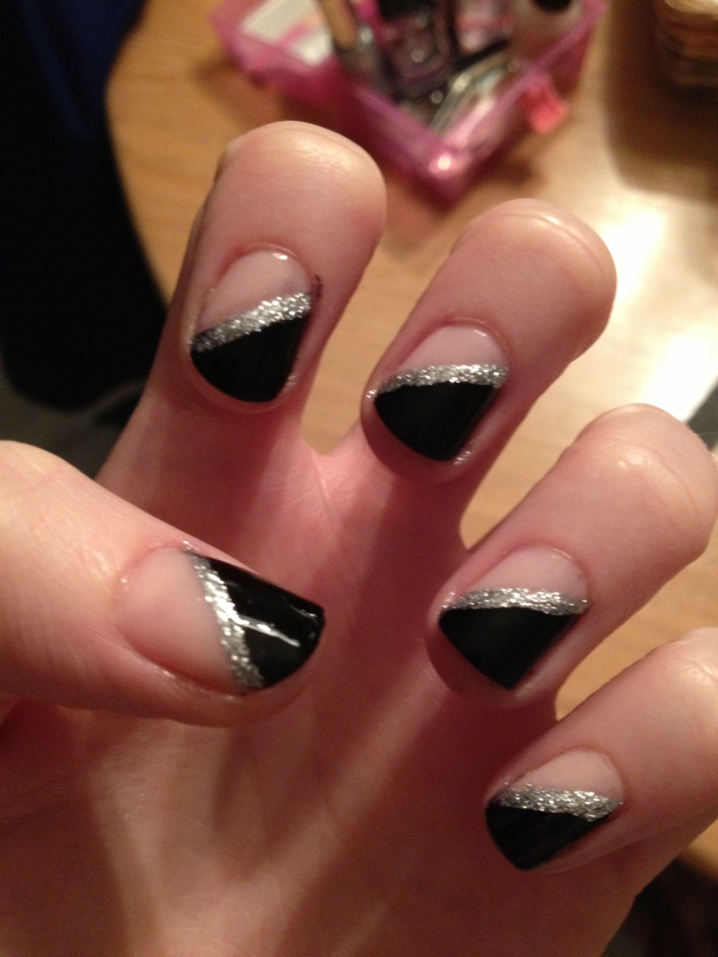 Nail Designs Diagonal - Nail Arts