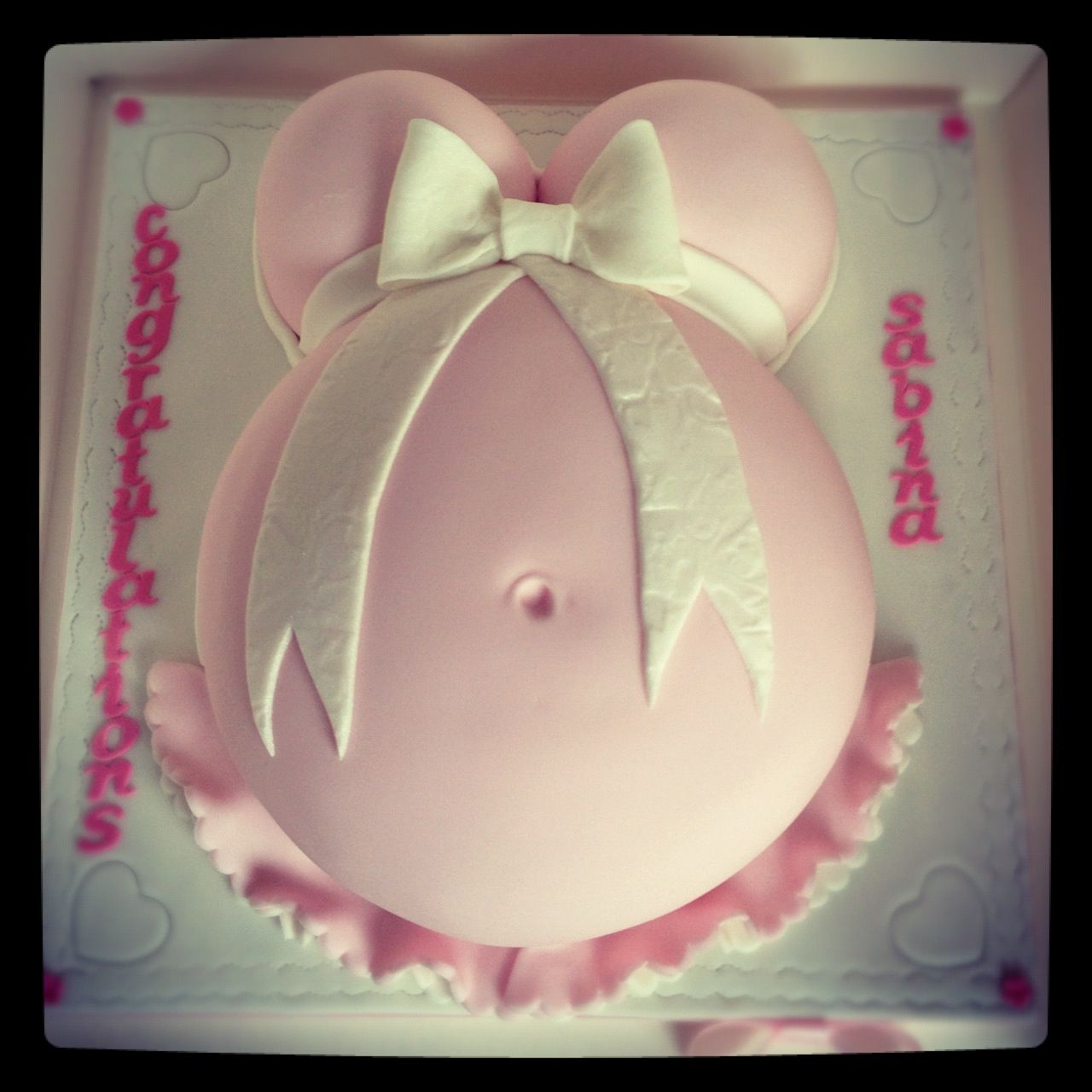 Baby Bump Cake Images : Baby bump cake Belly Cake/Bump Cake Pinterest