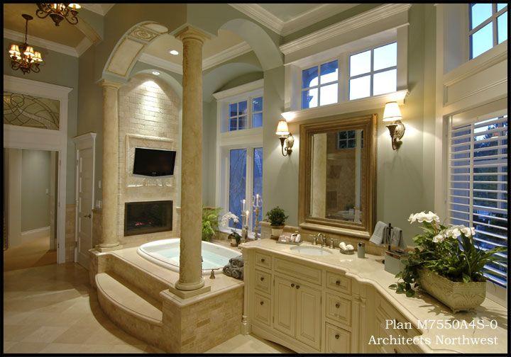 Elegant Master Bath Bathrooms Pinterest