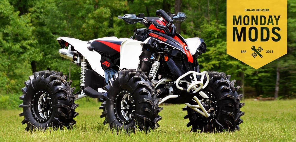 2013 renegade 1000 x xc built by jason smith at midwest performance can am pinterest atv