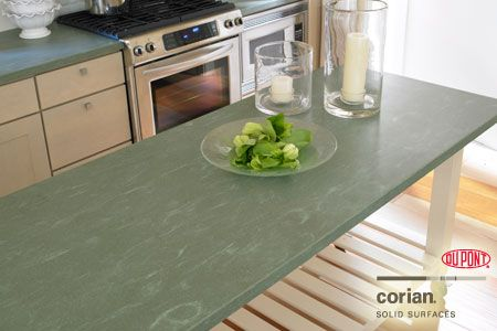 Solid dupont corian countertops