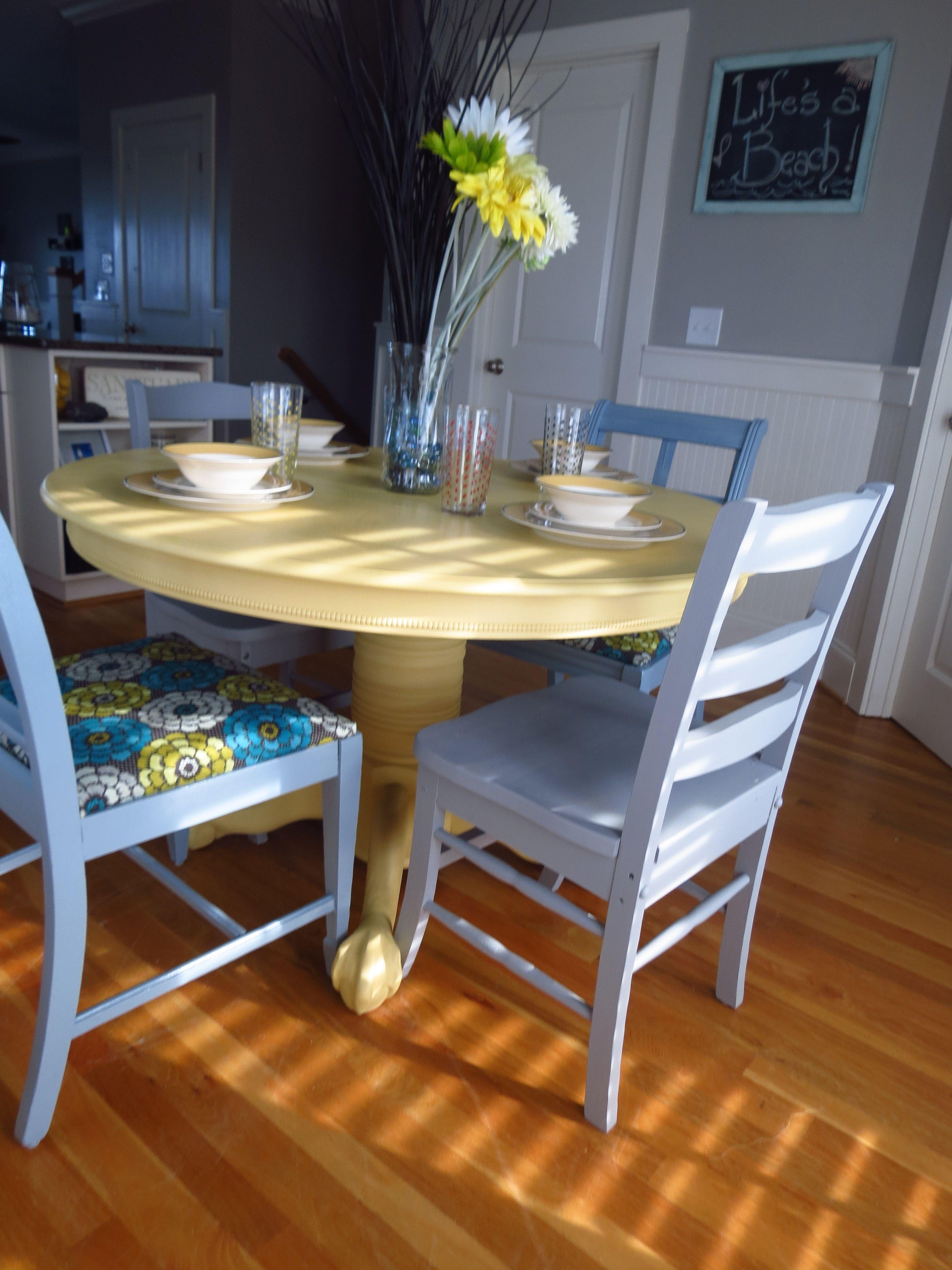 yellow grey and pale blue kitchen kitchen makeover pinterest