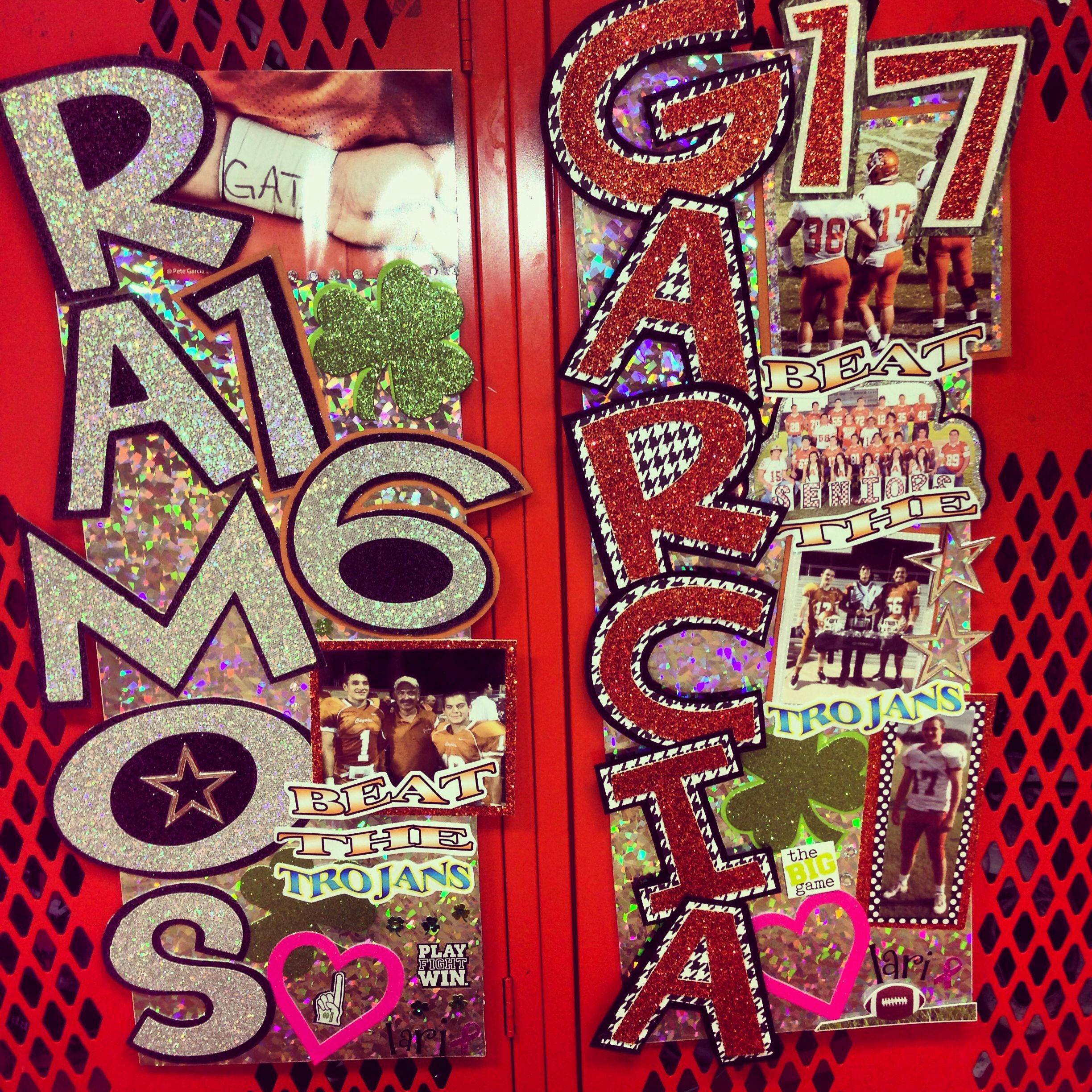 locker decorations cheer love pinterest