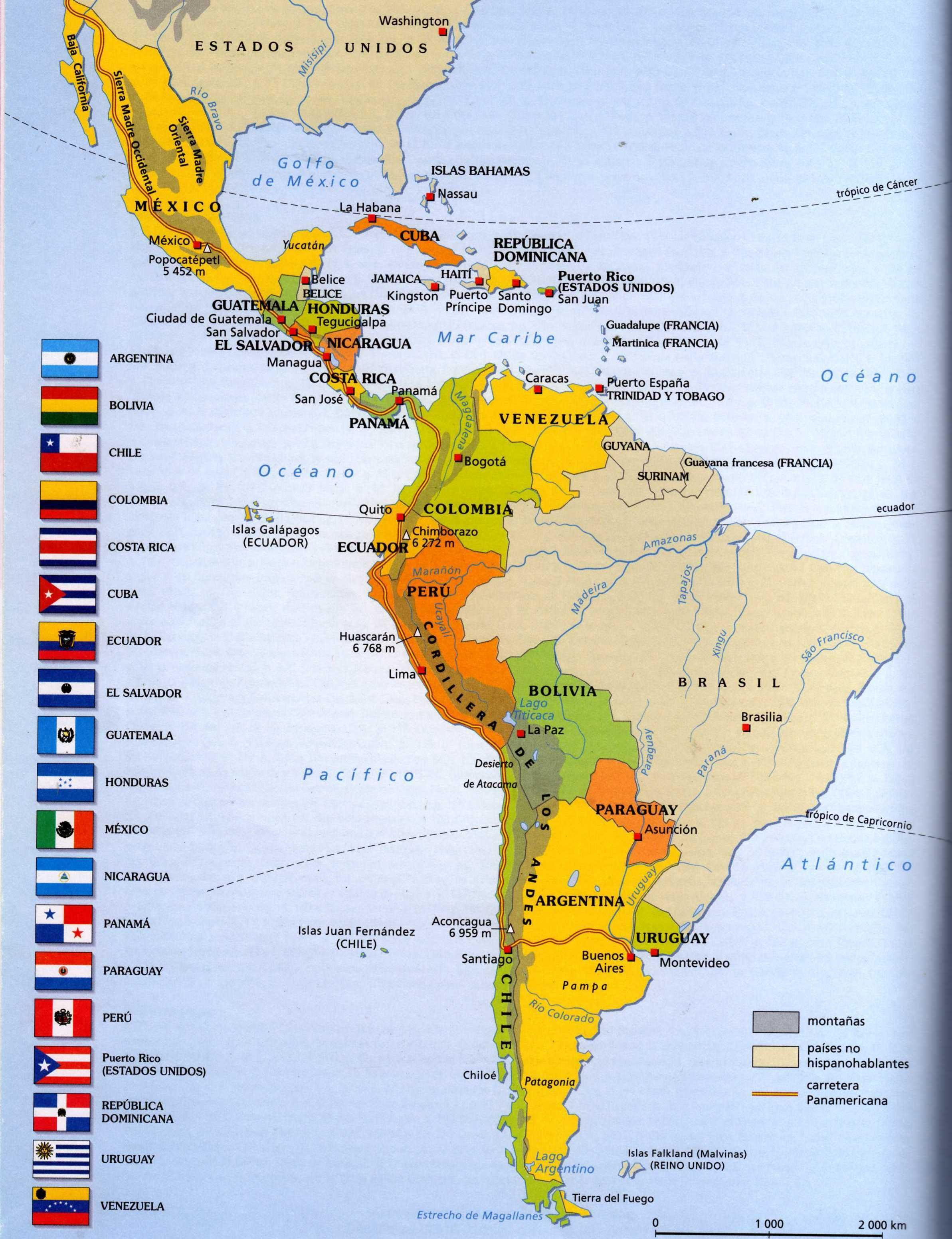 latin america change over time 1400 1650