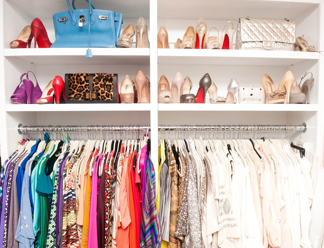Color organization closets pantrys pinterest for How to color organize your closet