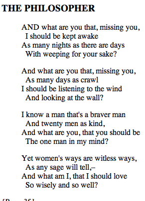 Spring, by Edna St. Vincent Millay