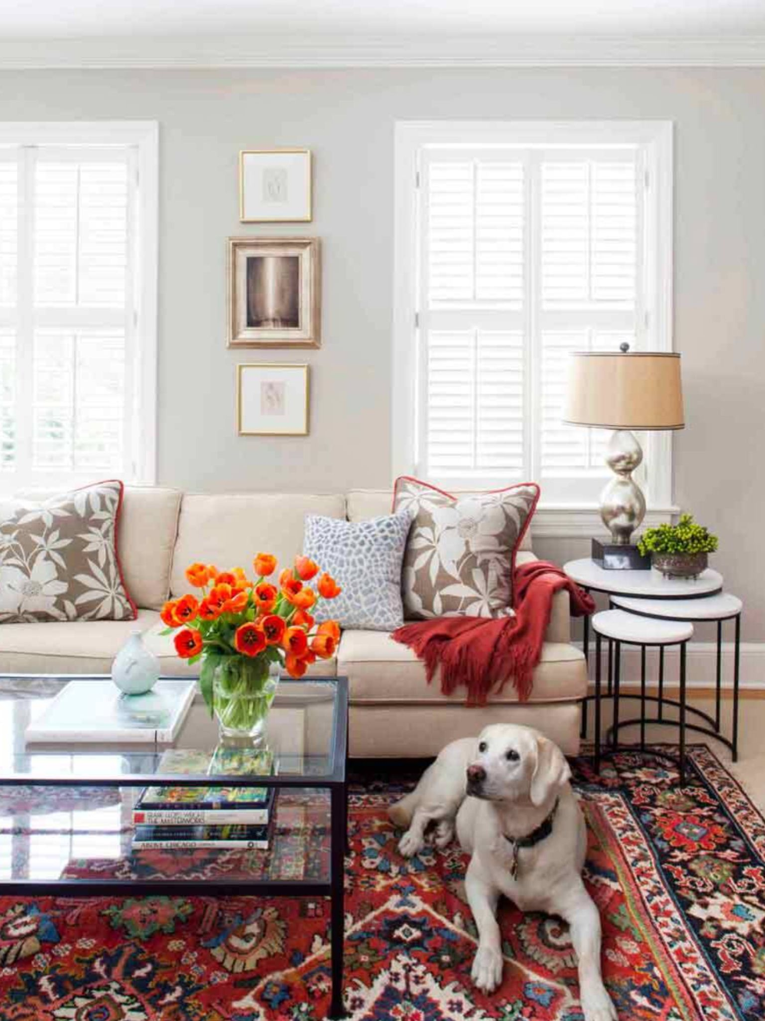 refresh the oriental rug look family room pinterest
