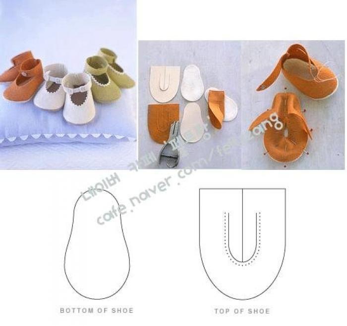 Простая обувь для куклы своими руками 25