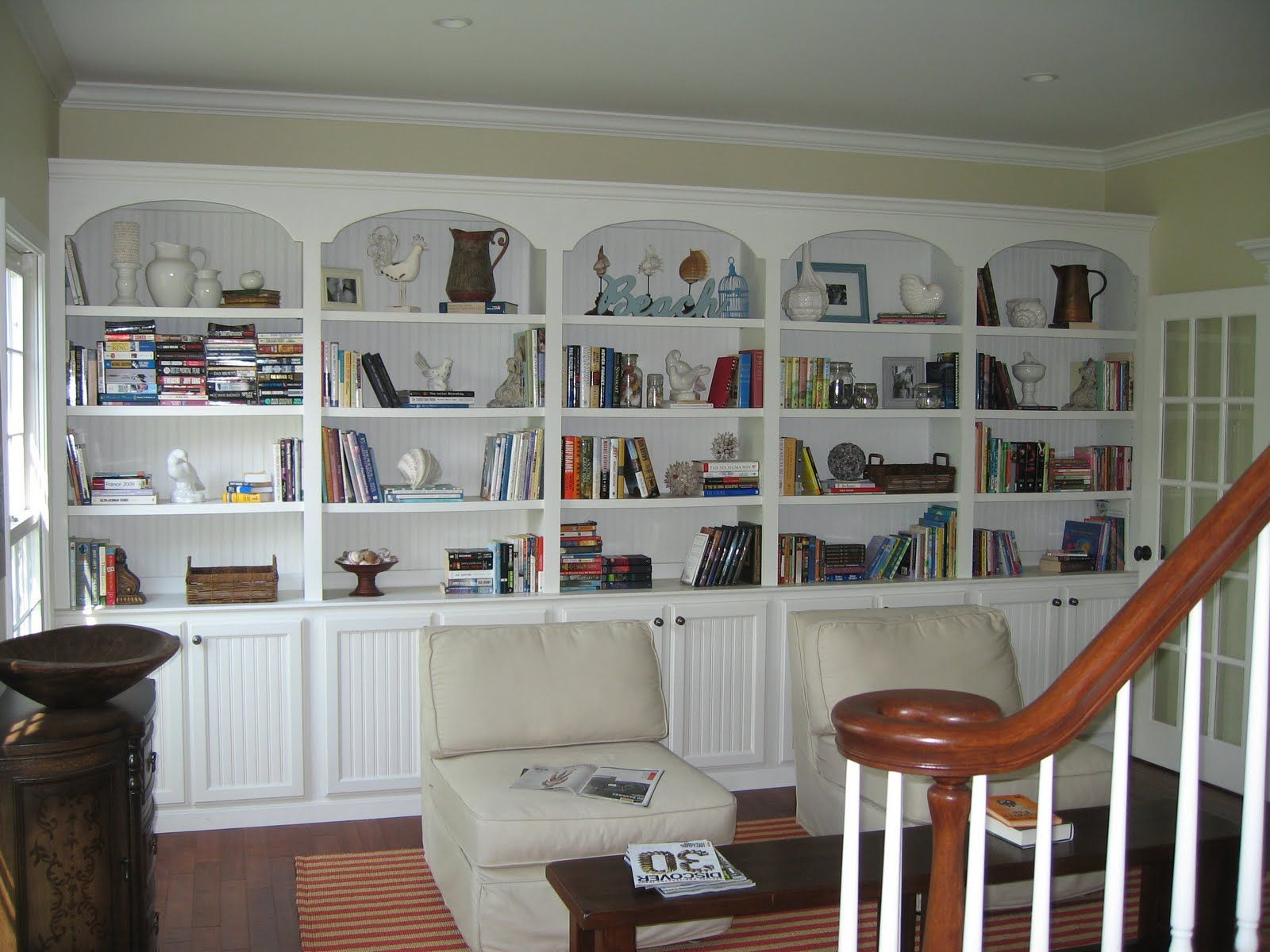Cool Home Library Space Cottage Style Pinterest