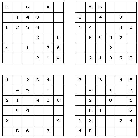 graphic regarding Printable Sudoku Puzzles 6 Per Page known as 6 Printable Sudoku Perform Calendar