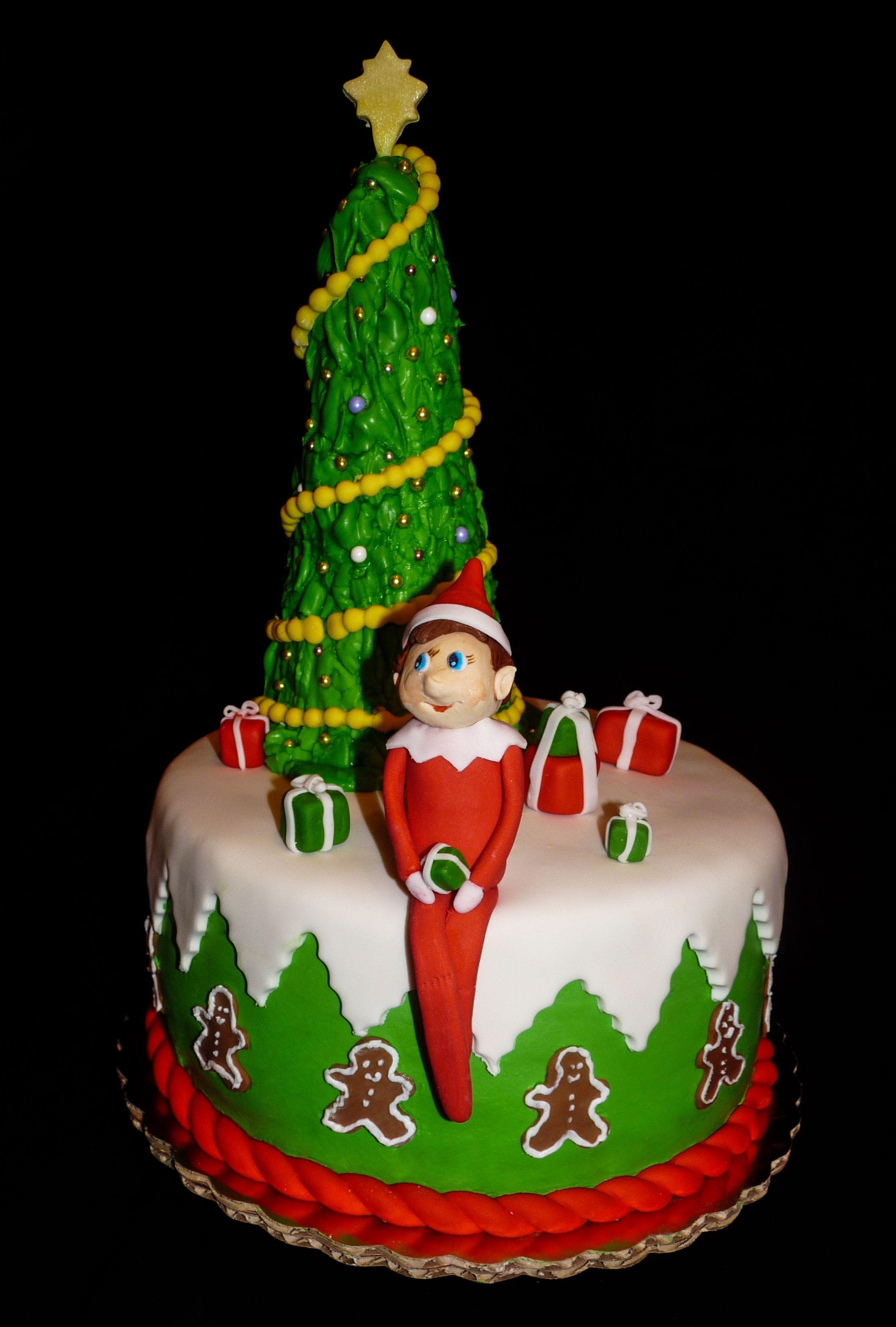 Elf on the Shelf Cake   An Affair With Cake   Pinterest