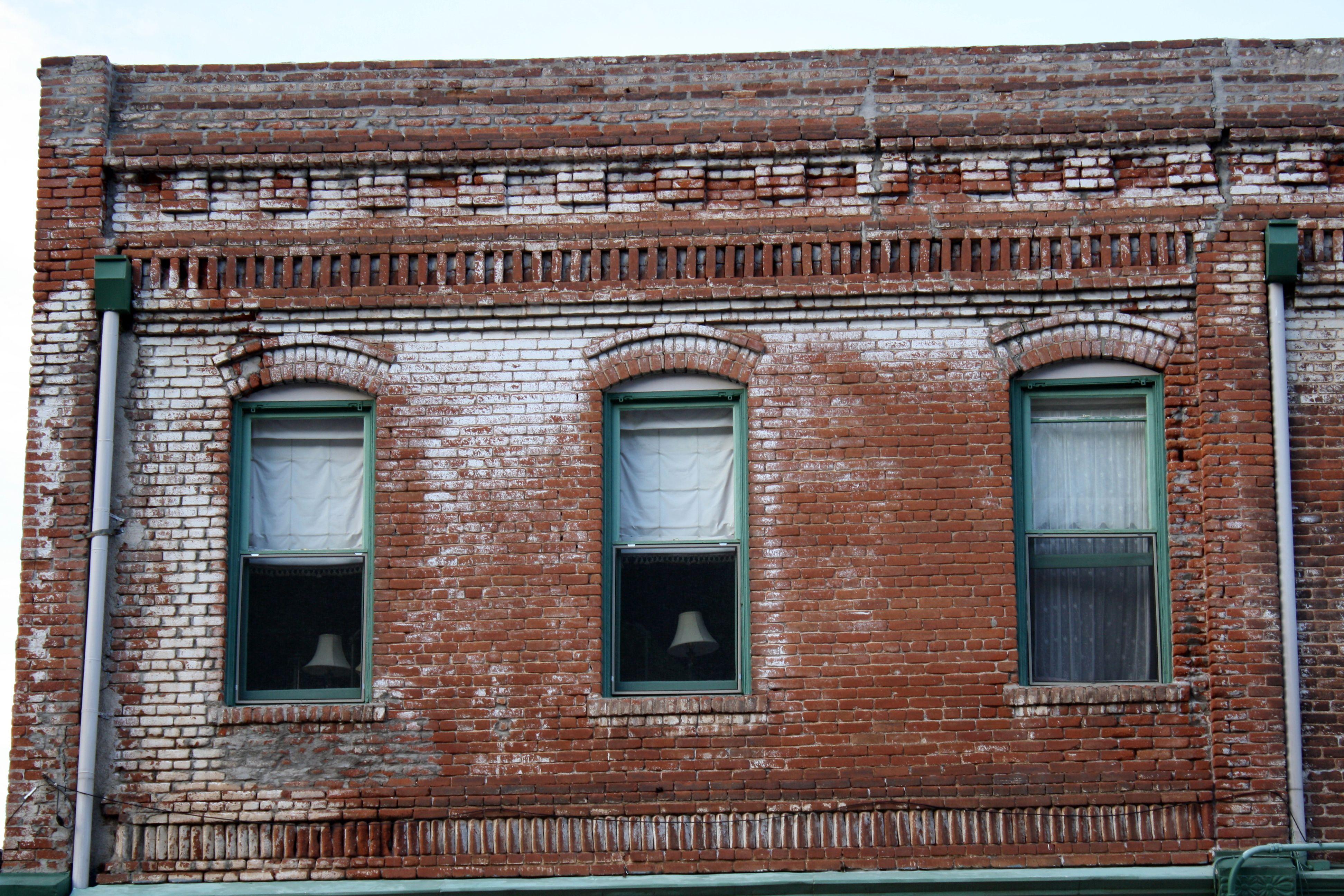 old brick building in jerome arizona apartments pinterest