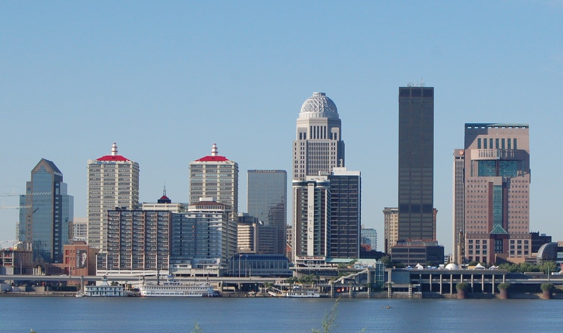 Louisville Skyline Pre Yum center | Places I've Been