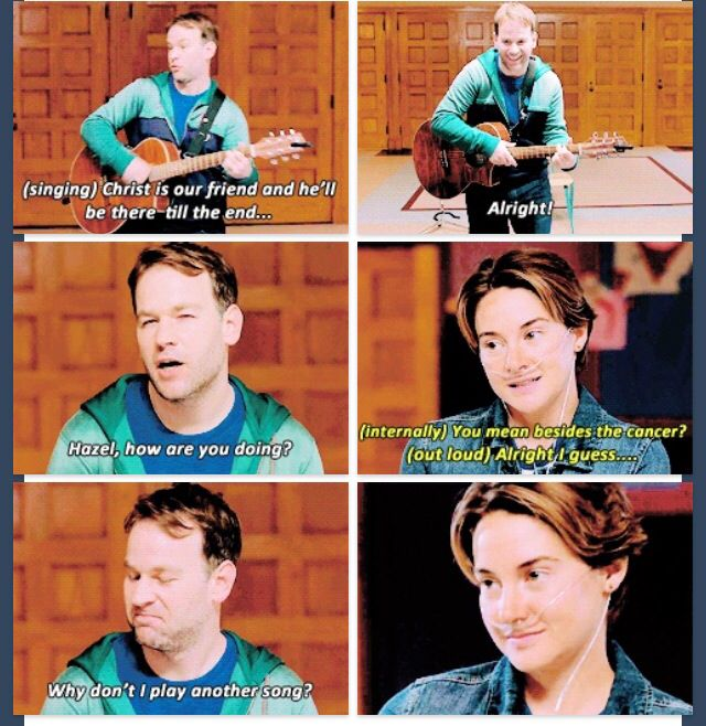 The fault In our stars support group | Nerdfighter | Pinterest