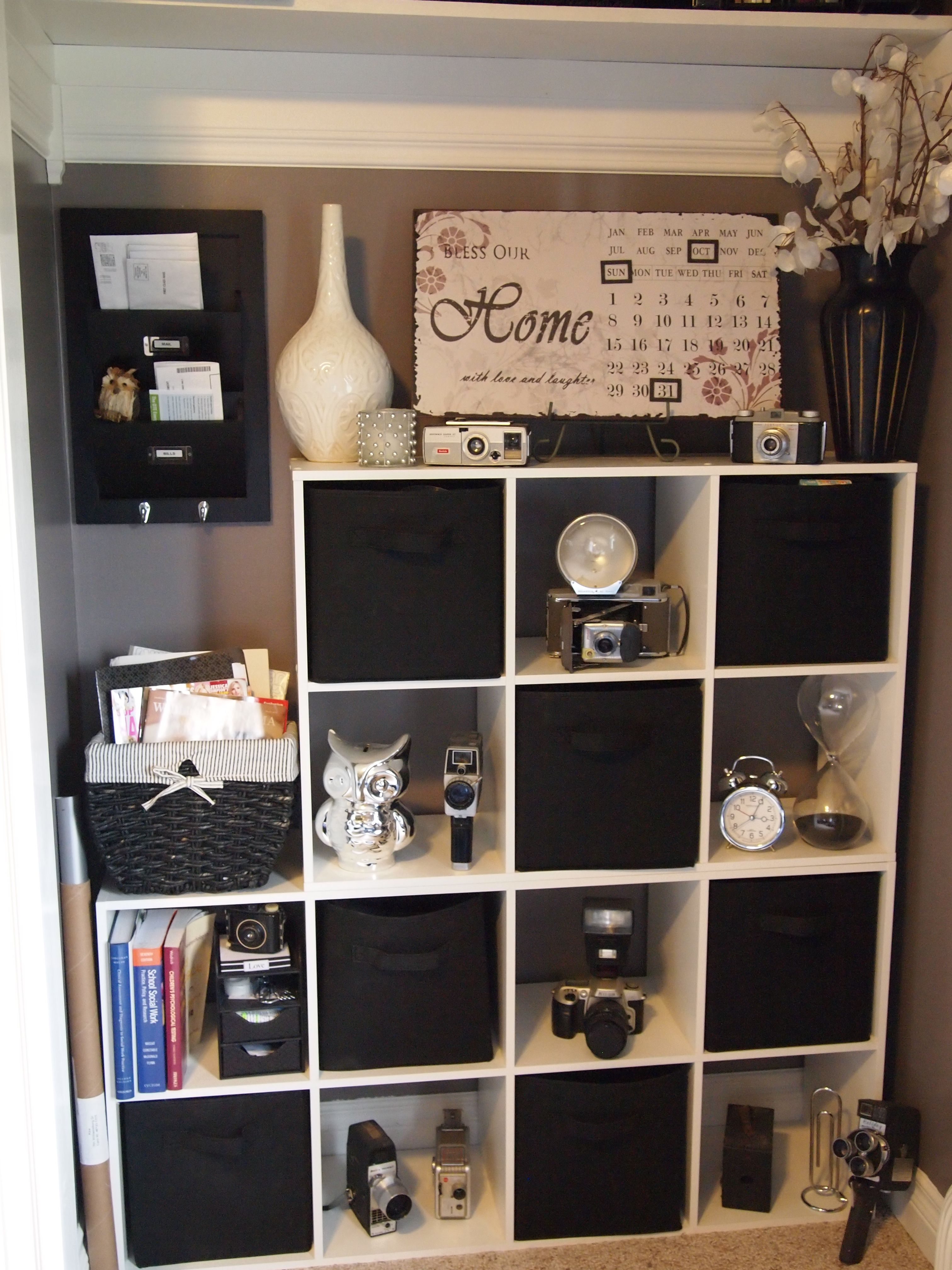 Office Shelves/ Organization For The Home Pinterest. Full resolution  portraiture, nominally Width 3024 Height 4032 pixels, portraiture with #435988.